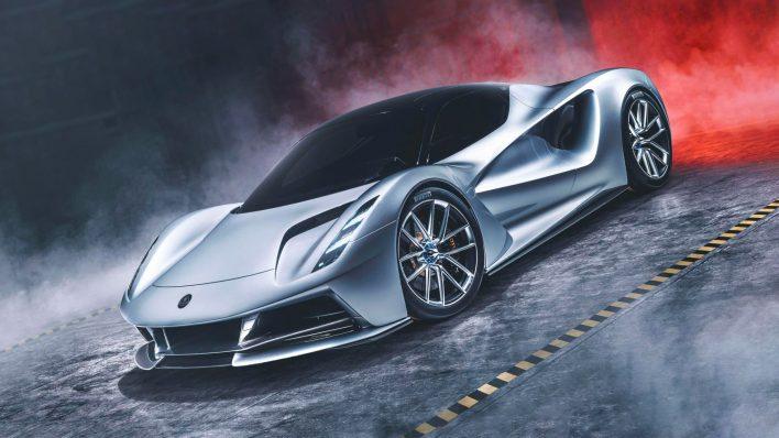 Самый быстрый электрогиперкар Lotus Evija поразил всех своей мощью!