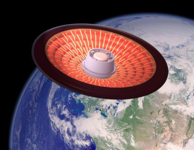 NASA разрабатывает надувной конус для отправки колонистов на Марс