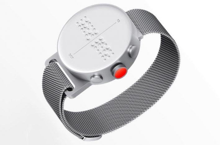 Впервые выпущены смарт-часы для слабовидящих и незрячих