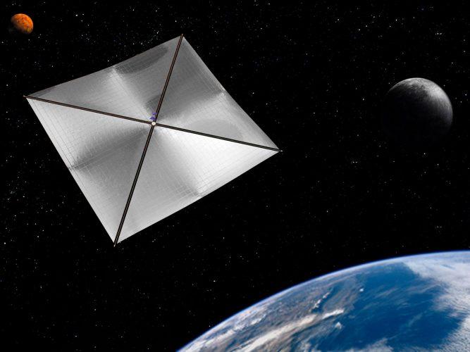 Россия запустит в космос спутники с «космическим парусом»
