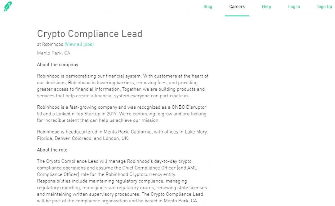 crypto compliance