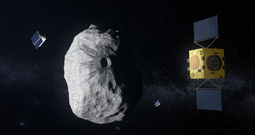 астроид и спутник