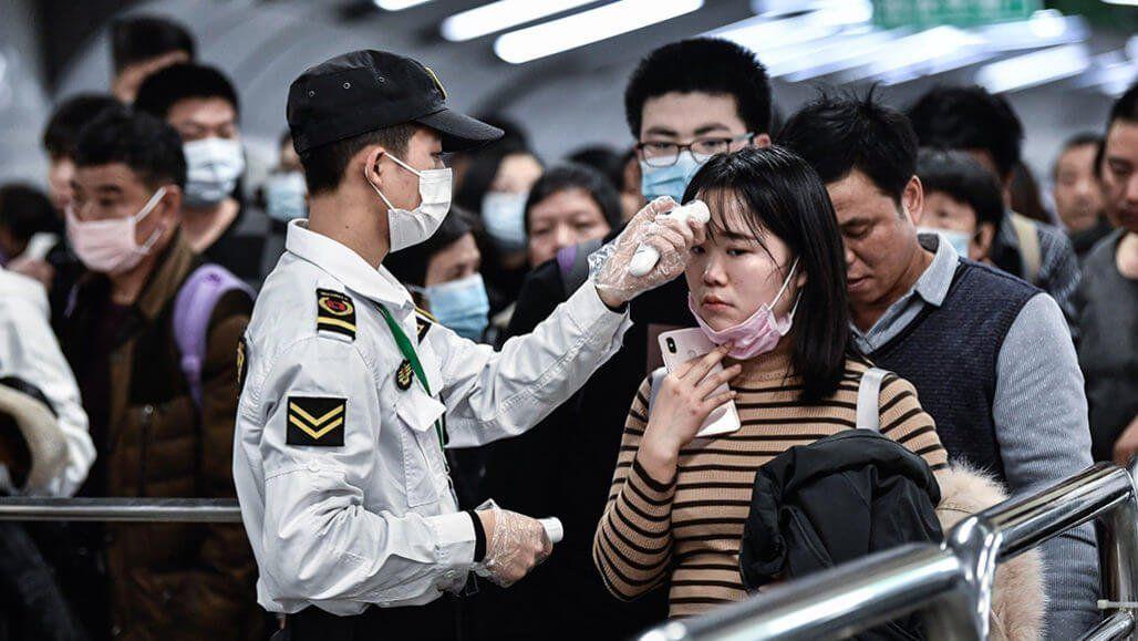 Коронавирус маски Китай