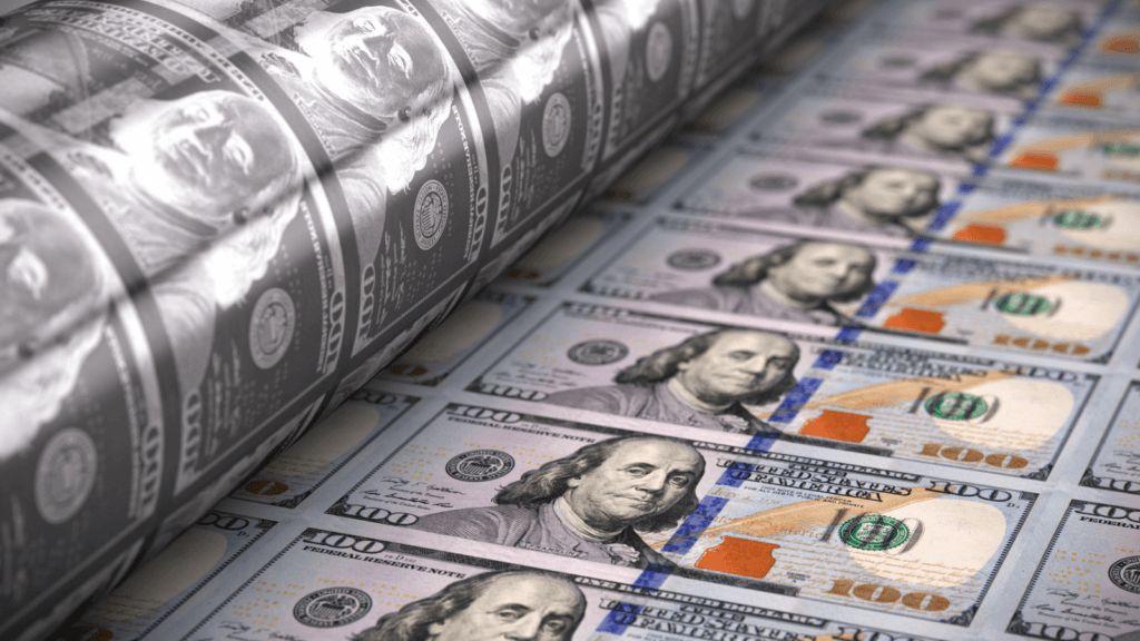 Доллар печать валюта