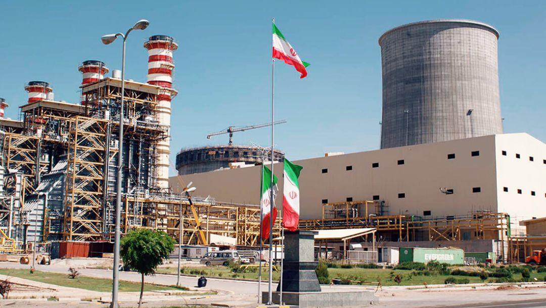 иранская электростанция