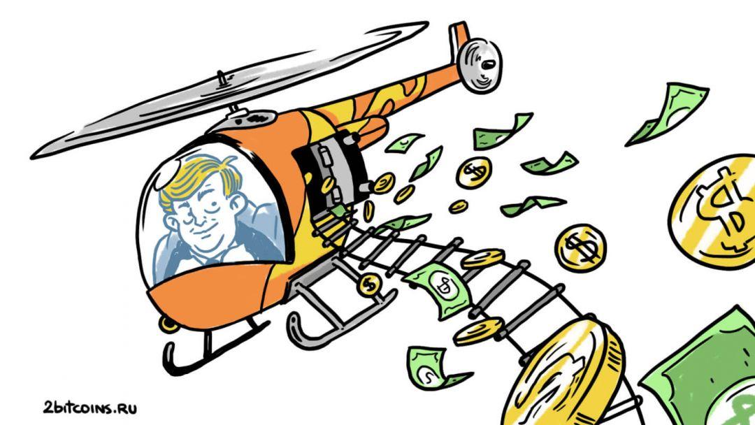 Трамп доллар банкноты