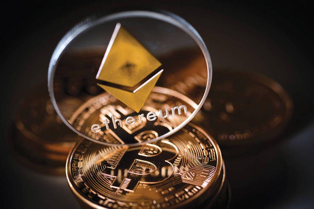 эфир и биткоин