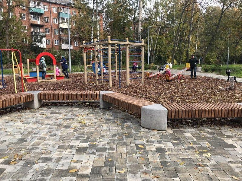 Детский городок на улице Сурикова победил в конкурсе благоустройства - фото 1