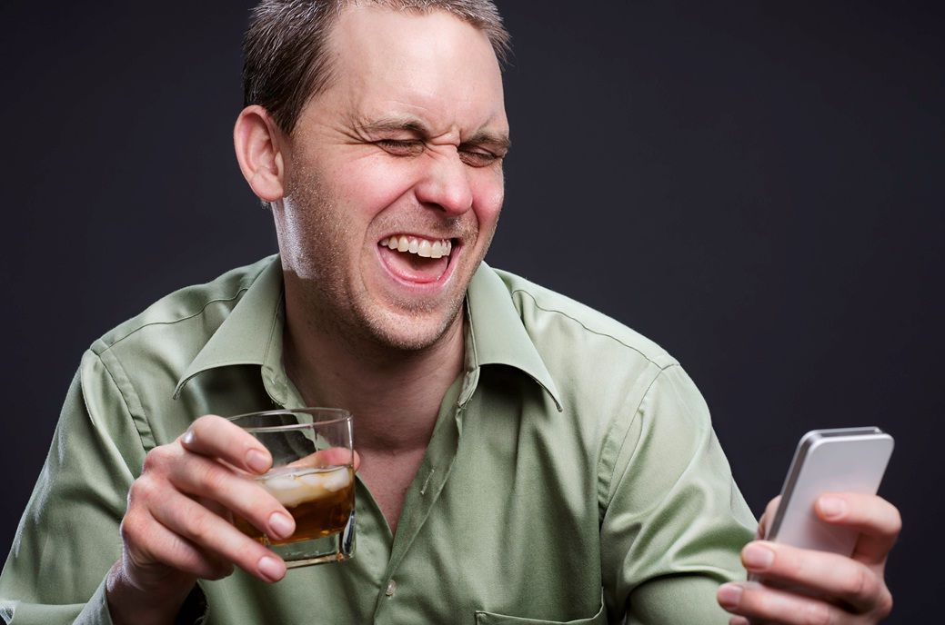 режим пьяного пользователя